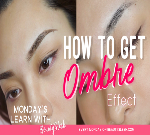 Ombré Shading: How to Get Beautiful Gradient Effect For the Eyebrows