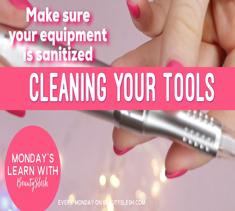 Sanitize and Disinfect Your Microblading Tools: Keep Your PMU Equipment and Studio Clean